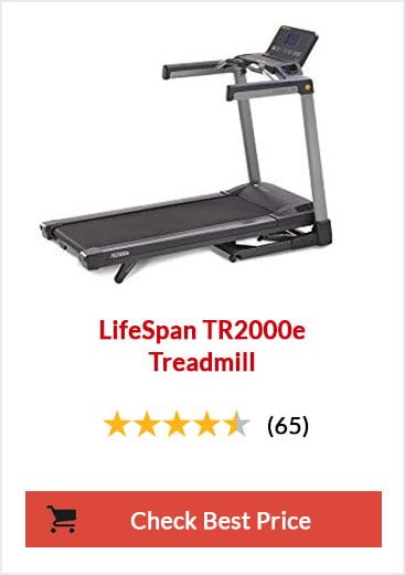 Best Folding Treadmill - LifeSpan TR2000e