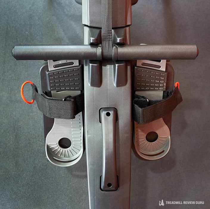 ProForm 750R Rower pedals and handle