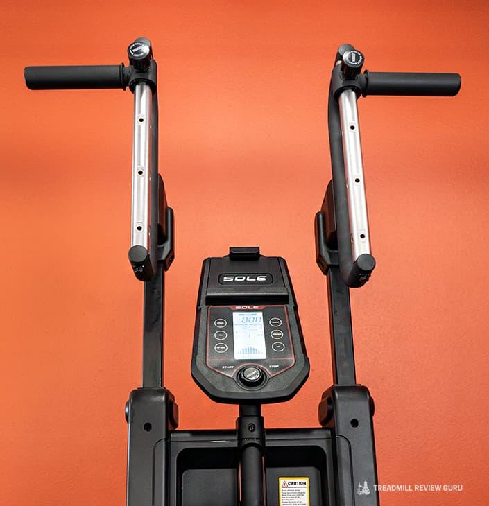 Sole Cardio Climber CC81 handles