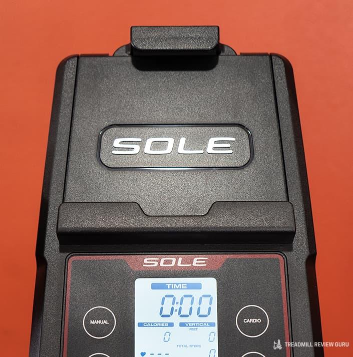 Sole Cardio Climber CC81 tablet holder