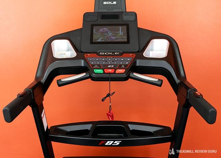 Sole F85 Treadmill console 2021