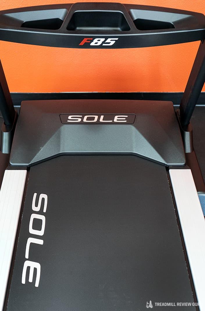 Sole F85 Treadmill motor hood