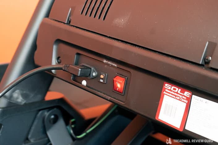Sole F85 Treadmill plug