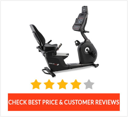 Sole LCR Recumbent Bike Review Page Graphic
