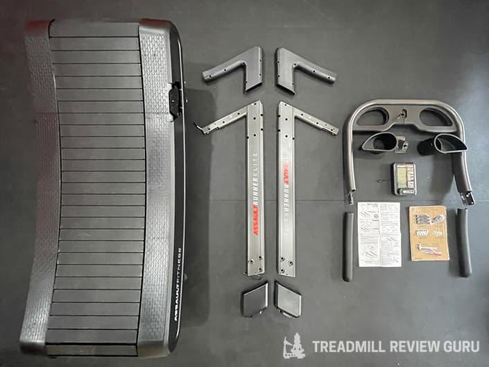 AssaultRunner Elite Treadmill - Unassembled