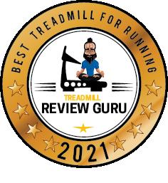 Best Treadmill For Running - NordicTrack 2950 award badge