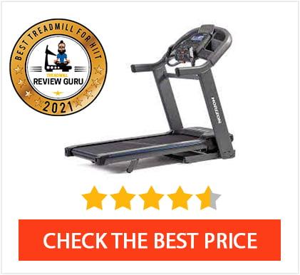 Best Treadmill For HIIT Training 2021 - Horizon 7.8 AT