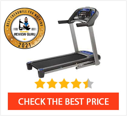 Best Treadmill For Walking 2021 - Horizon T101