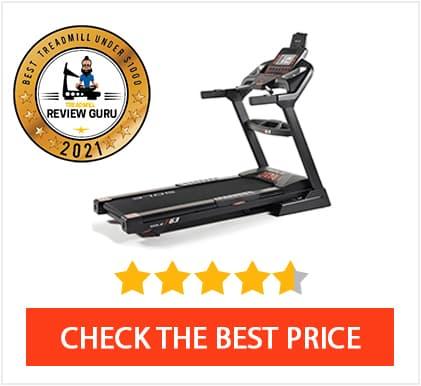 Best Treadmill Under $1000 2021 - Sole F63