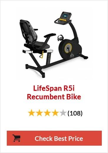 LifeSpan R5i Recumbent Bike Feature