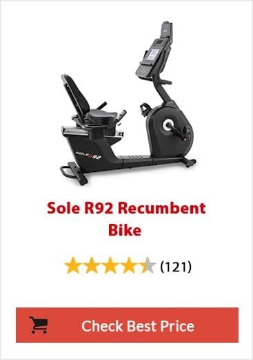 Sole LCR Recumbent Bike Feature