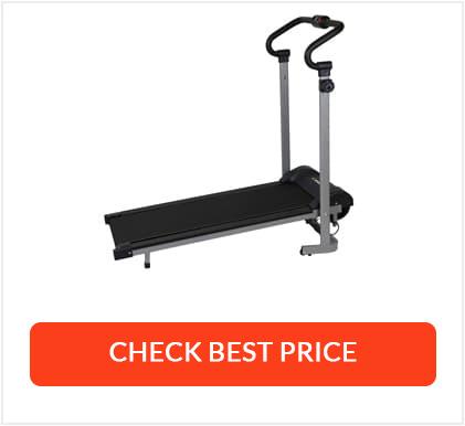 Best Folding Manual Treadmill - Confidence Fitness Magnetic Treadmill